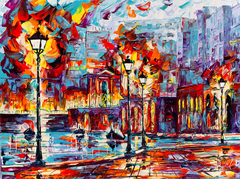 Simply Creative: Palette Knife Paintings by Micko-Vic
