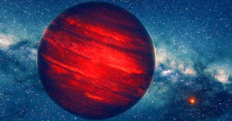 COROT exo-3b büyüleyici bir görüntüye sahiptir, Jüpiter'den daha büyüktür.