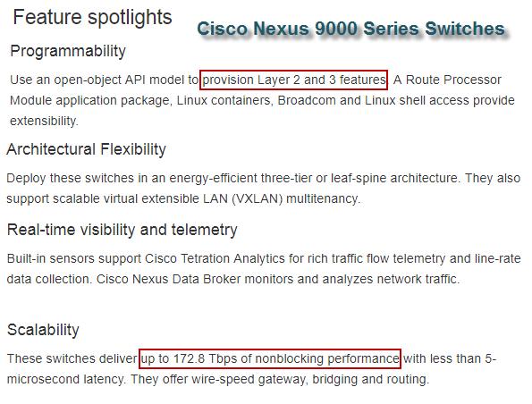 Cisco, Network Equipment Resource: Get a Look at Cisco Nexus