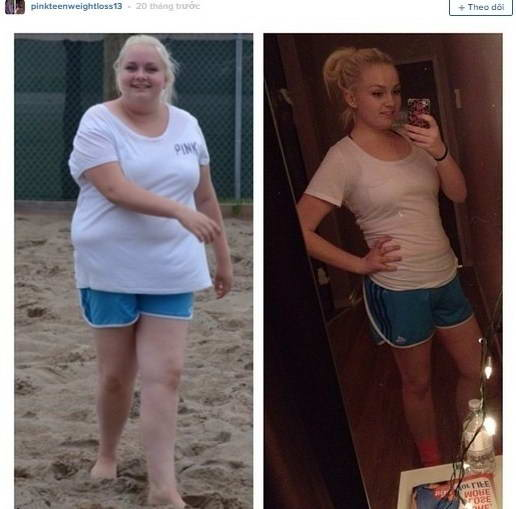 Gặp gỡ cô nàng giảm quyết tâm giảm 45 kg