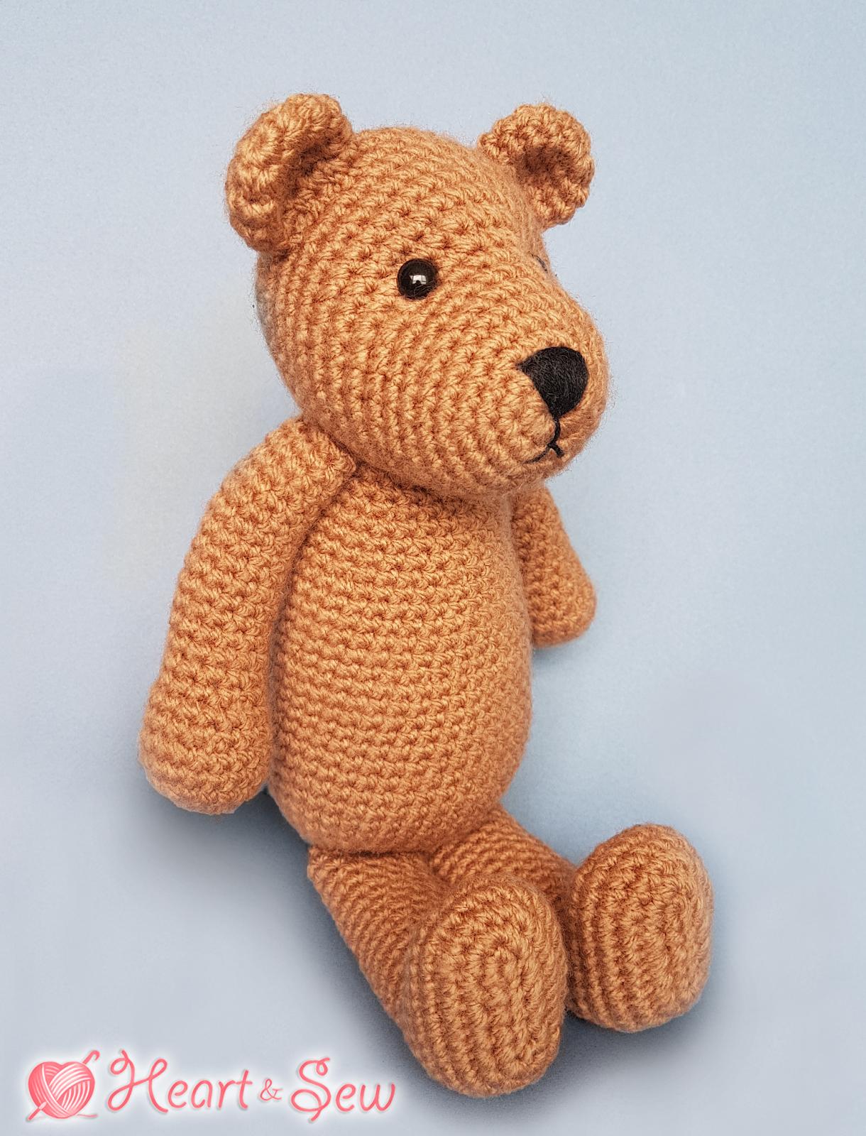 20+ Free Crochet Teddy Bear Patterns ⋆ Crochet Kingdom | 1600x1220
