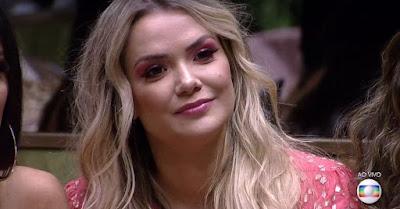 Marcela é a 12ª eliminada do BBB20, com 49,76% dos votos — Foto: Globo