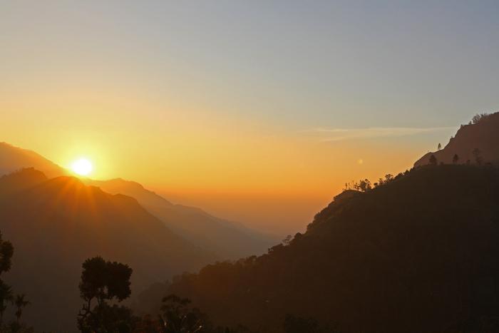 Sonnenaufgang Ella Gap