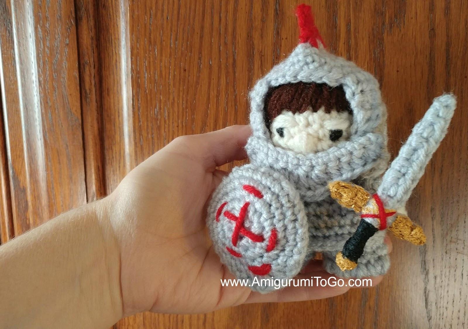 Little Boy Knight Part One Amigurumi To Go