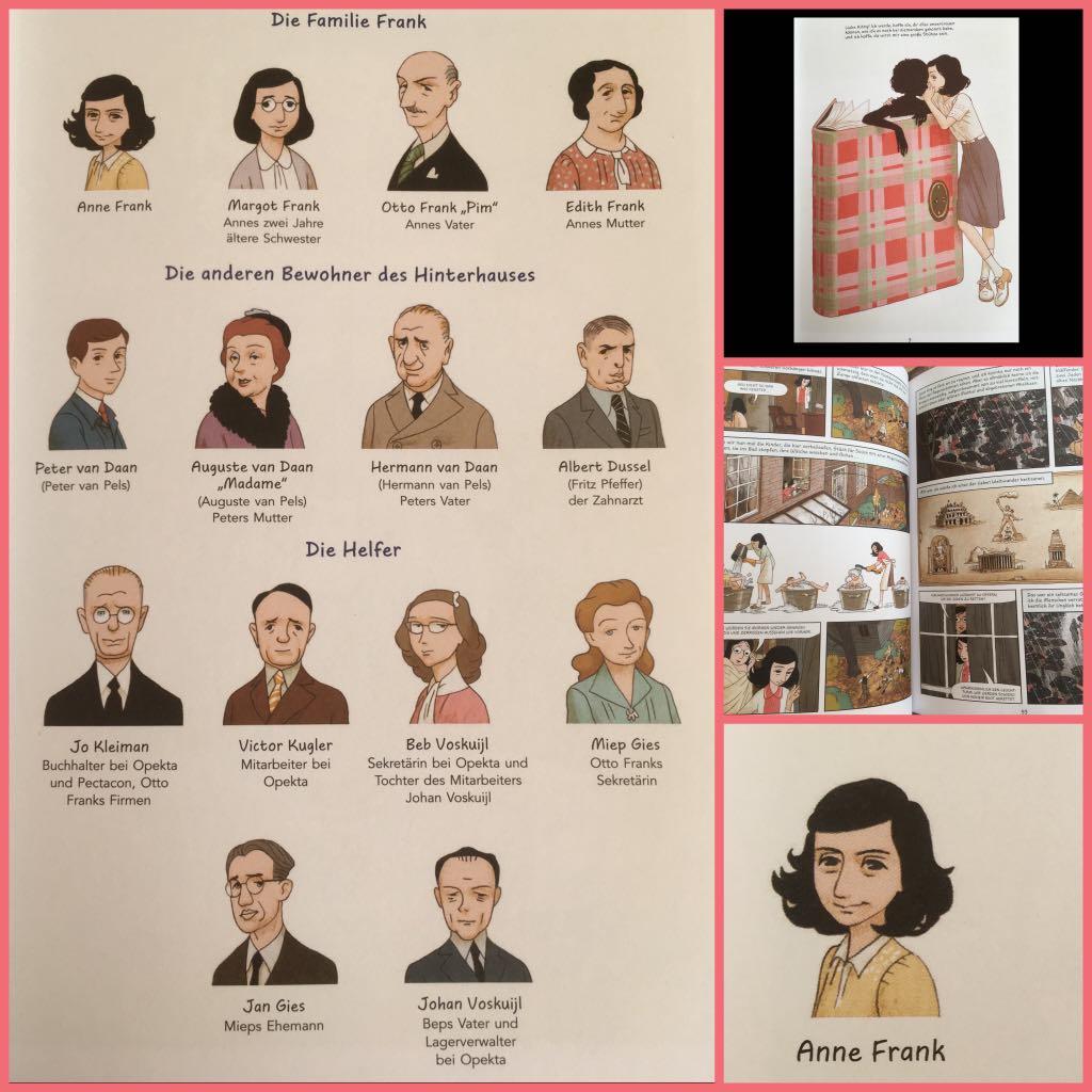 Buchvorstellung Das Tagebuch Der Anne Frank Anne Frank