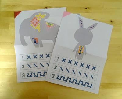 zestaw do haftu dla dzieci