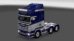 Tottenham Hotspur FC Scania RJL skin