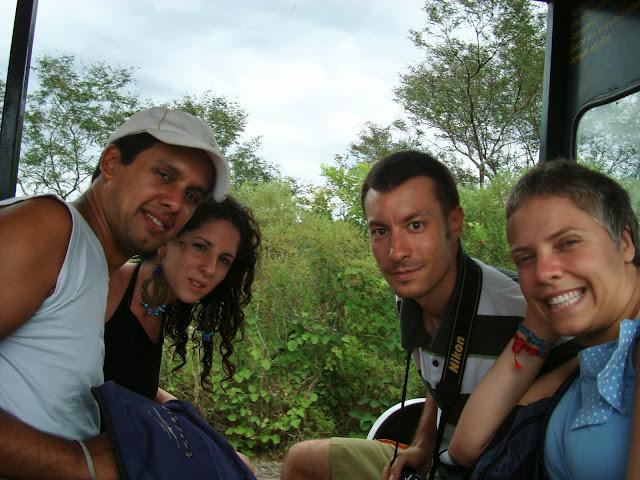 Iguazú National Park; Puerto Iguazú, Argentina with our friends
