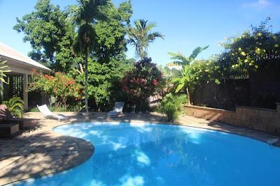 Piscine du Lodge Avoctier pour un séjour tout compris à Mayotte