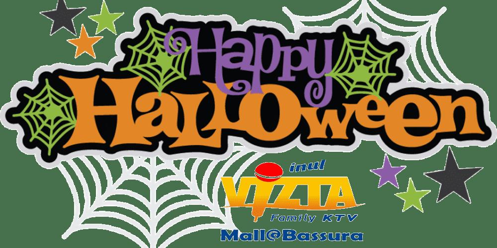 happy halloween 2017 at Inul Vizta Mall@Bassura
