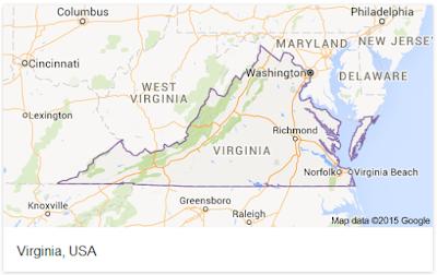 Virginia Postal Code Listings - Virginia area codes