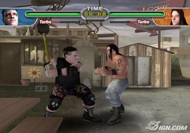 Backyard Wrestling 2 There Goes the Neighborhood PS2 ISO ...