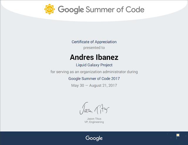 Reconocimientos del Vice Presidente de Ingeniería de Google