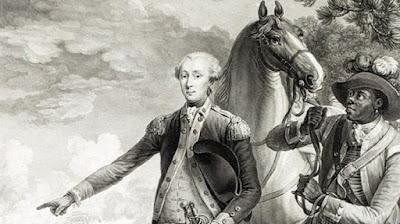 James Armistead at the Battle of Yorktown