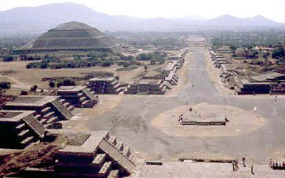 Teotihuacan World Map.Wide Urban World Teotihuacan Ancient Mesoamerican Metropolis
