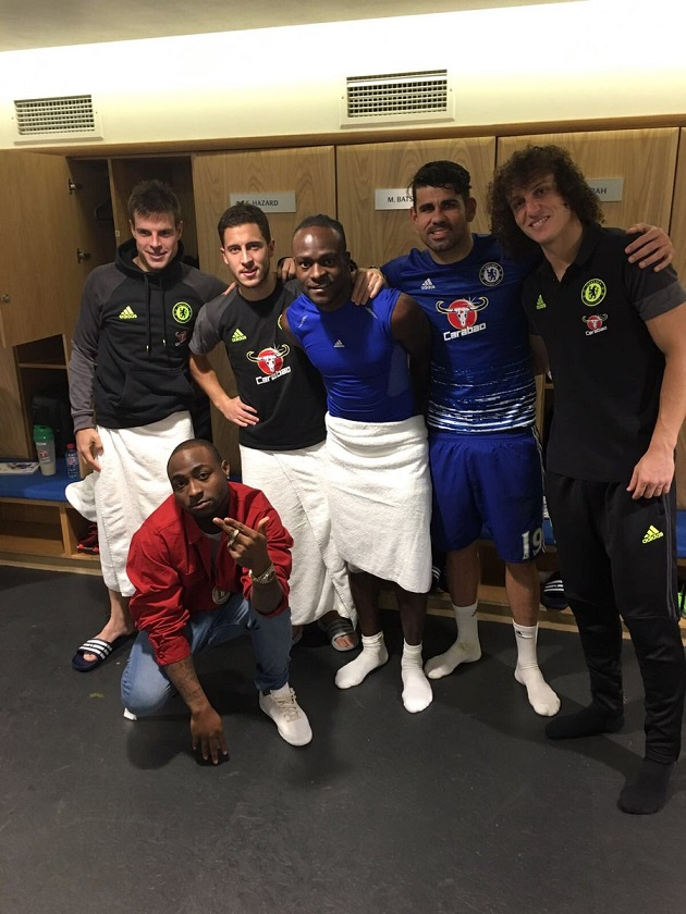 Chelsea Hero Victor Moses Celebrates Win With Nigerian Hip-Hop