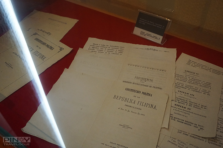 Age-old copy of Mabini's Constitution
