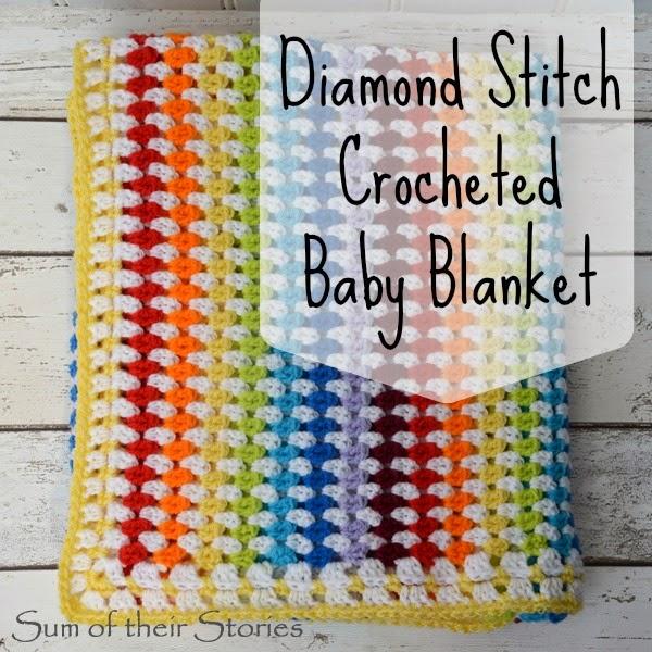 Diamond Stitch Baby Blanket