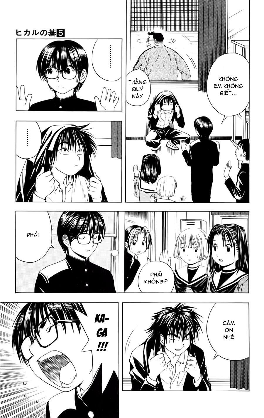 Hikaru No Go hikaru no go chap 42 trang 8
