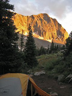 Sunset at Capitol Peak