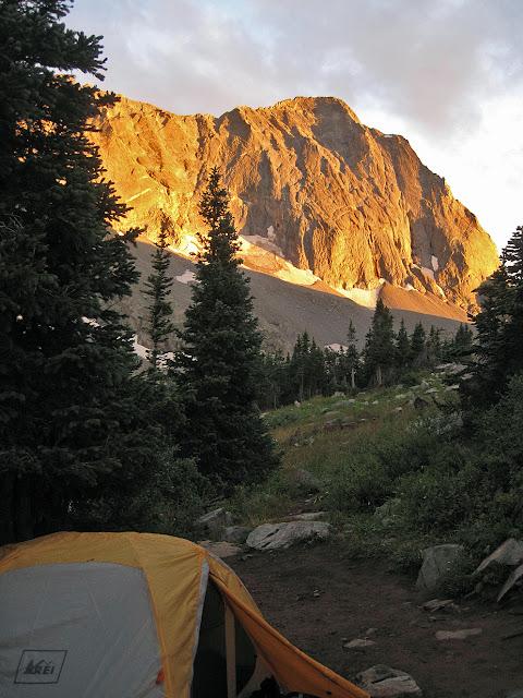 campsite near Capitol Peak
