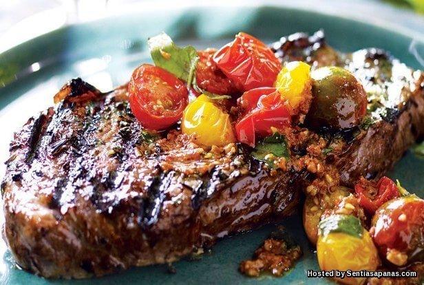 Steak+Lazat