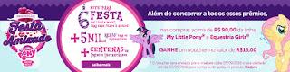 Promoção Festa da Amizade My Little Pony a amizade é mágica