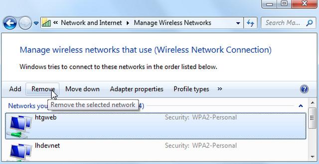كيفية إيقاف ويندوز 7 / 8 / 10 من الاتصال تلقائيا بشبكة الواي-فاى Wi-Fi Network