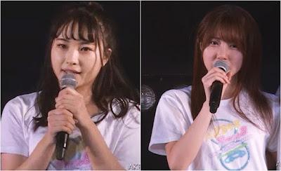 AKB48 Team 8 Hirose Natsuki & Mogi Kasumi.jpg