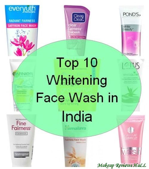 Top 10 Whitening Face Wash in India