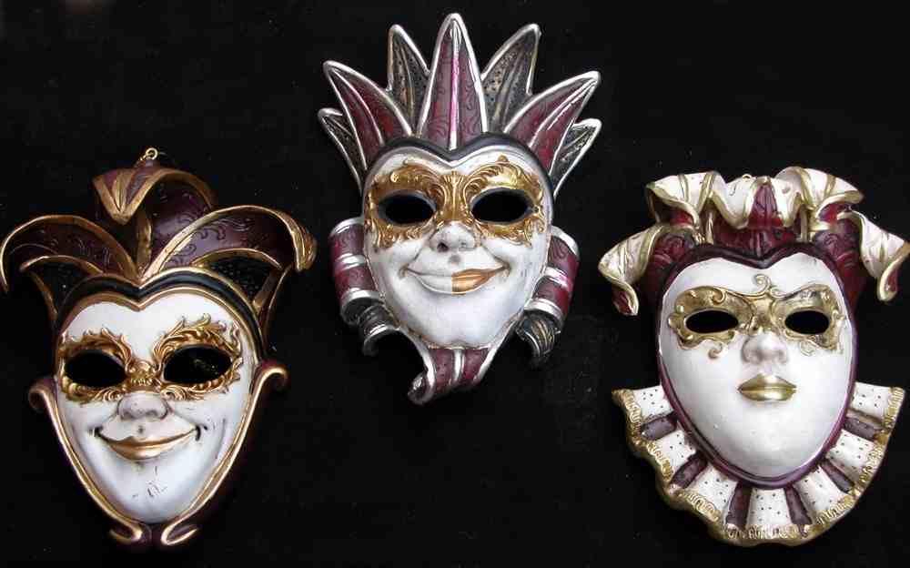 imagen de máscaras de carnaval