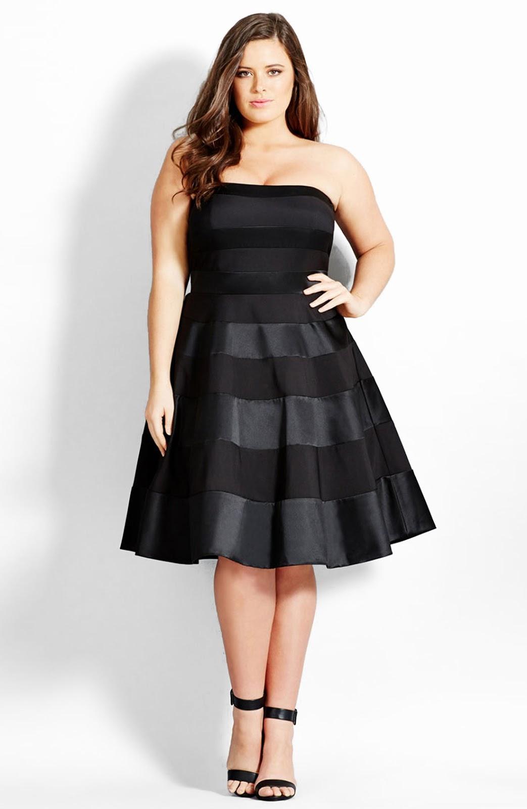 Vestido formal mujer gordita