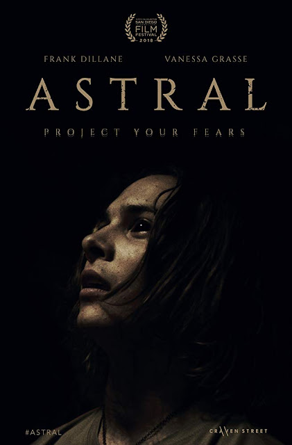 Astral 2018 supernatural horror movie poster San Diego International Film Festival