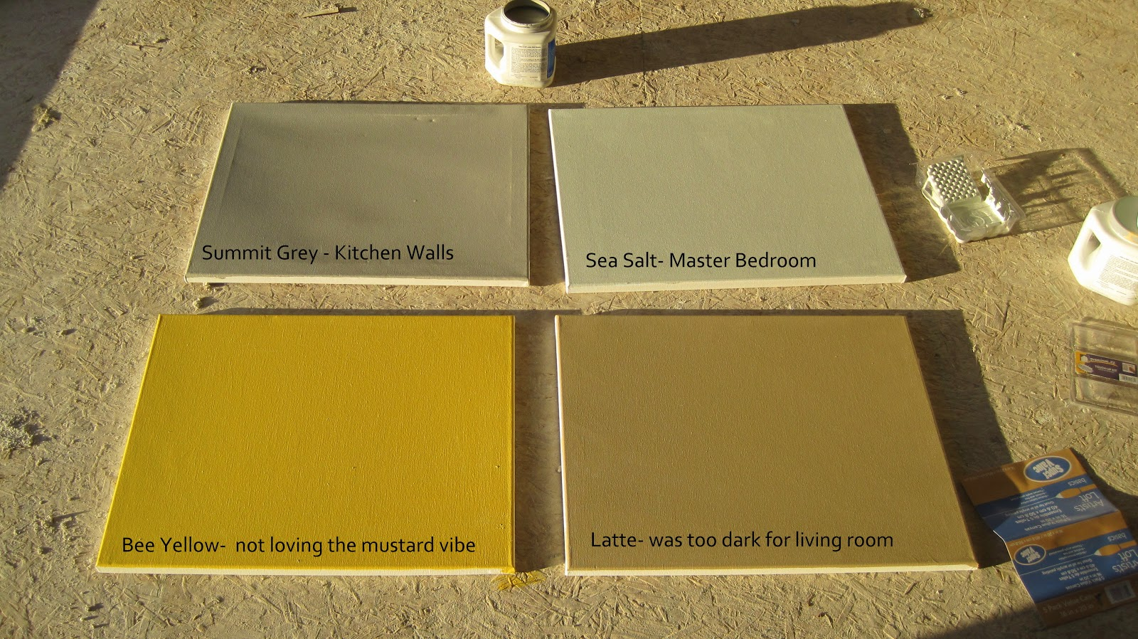 I Married A Tree Hugger Picking Out Paint Colors