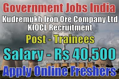 KIOCL Recruitment 2019