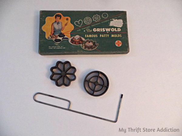 Friday's Find #136 mythriftstoreaddiction Fabulous finds of the week including vintage party molds