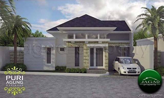 Rumah Siap Bangun dekat Stadion dan Jogja Bay