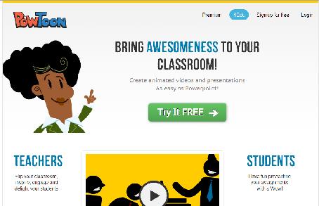 PowToon Herramienta TIC para Educacion 2.0