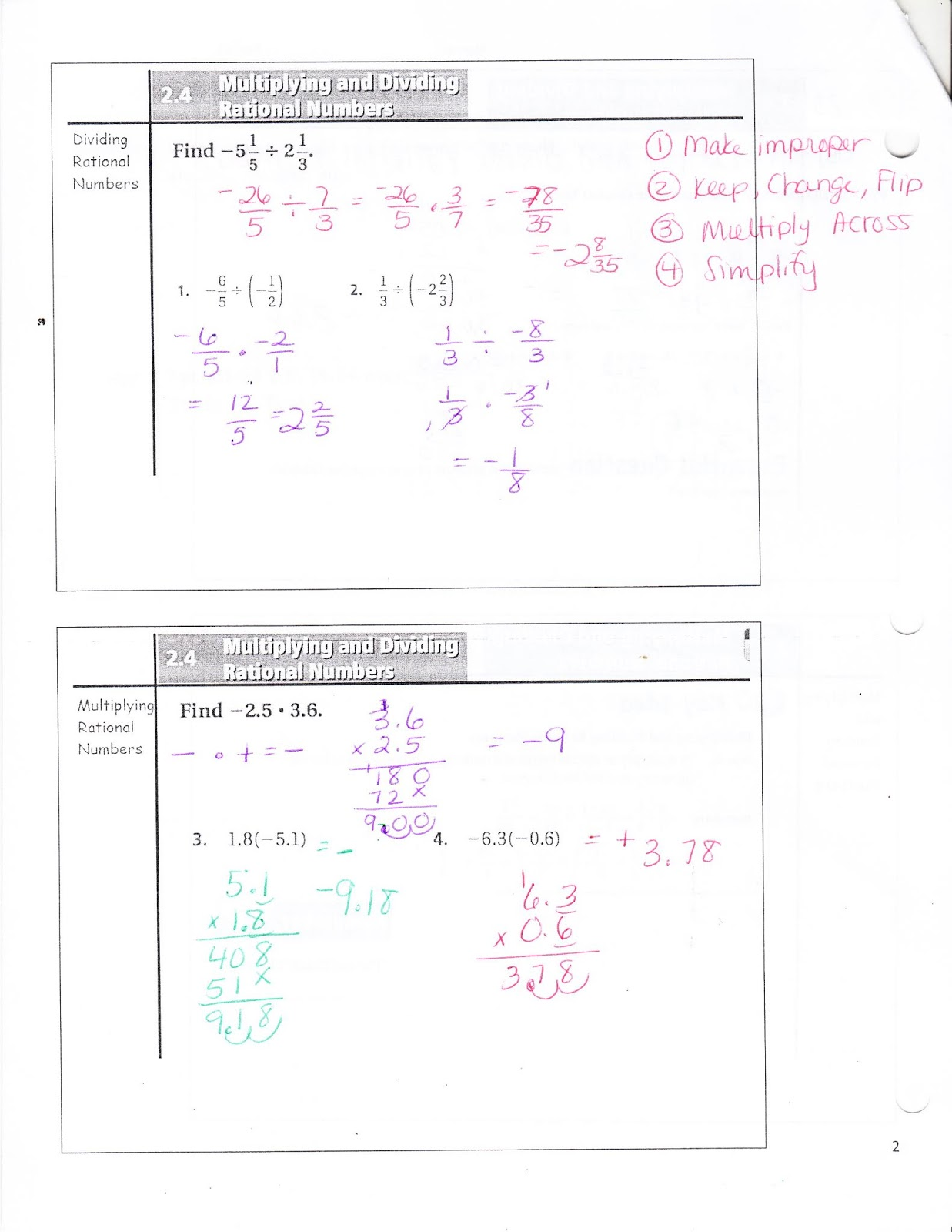 Ms Jean S Classroom Blog 2 4 Multiplying And Dividing