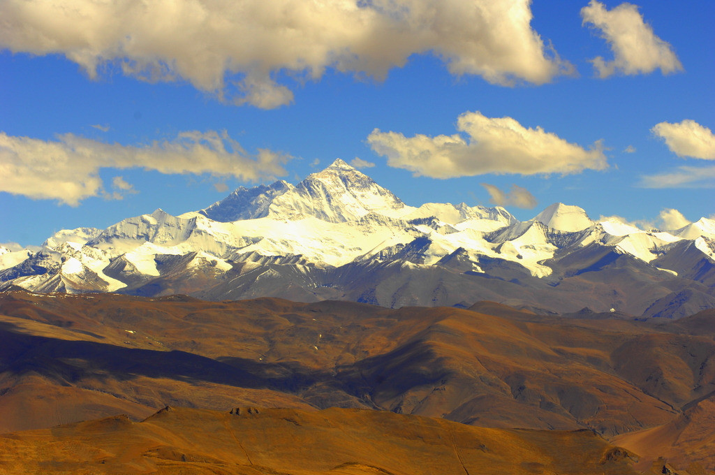 You can see the beautiful Mt Everest base camp
