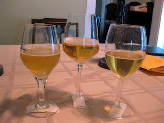 From left to right samples: #1, #2, #3.