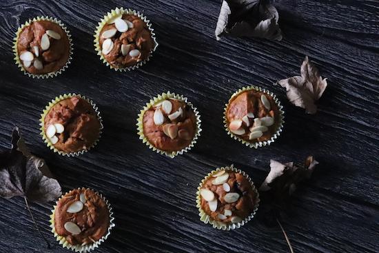 Pumpkin spiced sponge muffins recipe