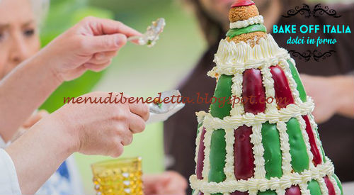 Torta Religieuse a l'ancienne ricetta Knam da Bake Off Italia 4