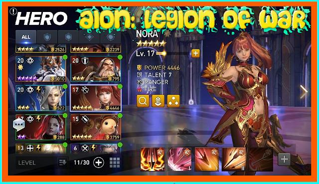 Aion Legend of War para móviles