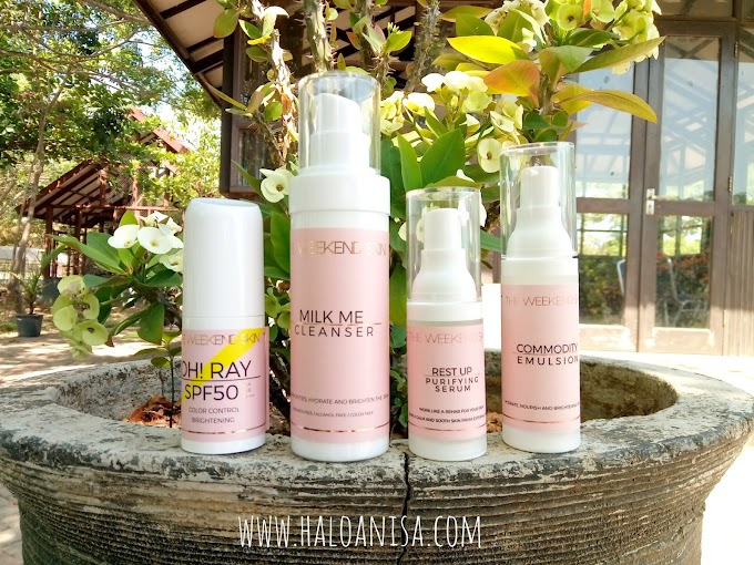Review Skincare Thailand The Weekend Skin - Bahasa Indonesia