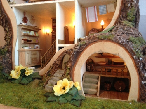 Miniature mouse house
