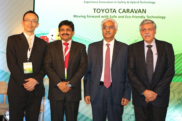 "Toyota Kirloskar Motor leads the crusade for a safer and cleaner India through ""Toyota Caravan"""