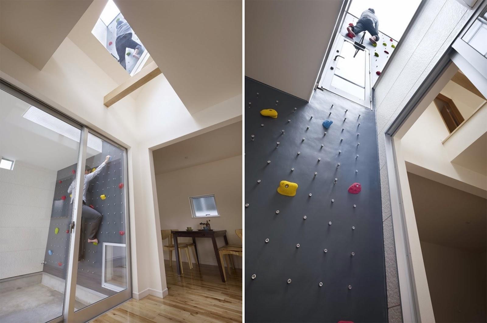 Altezza Minima Soffitto naf architect & design - 3way house con climbing wall   arc