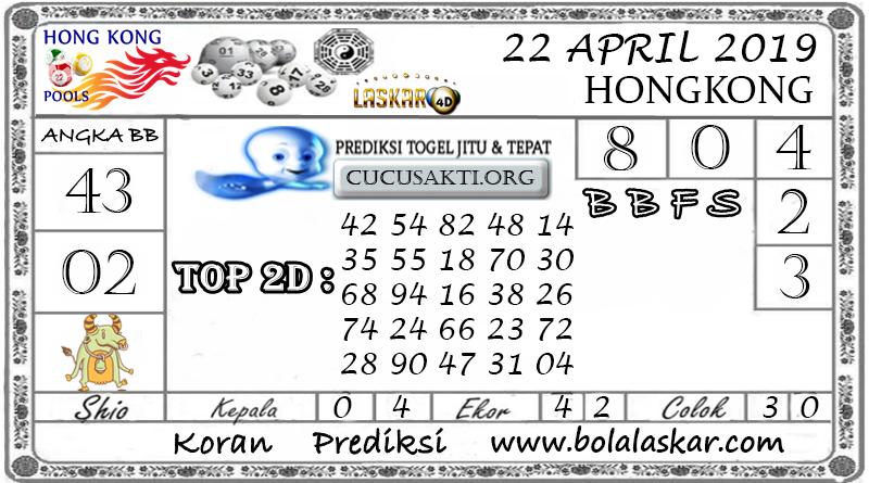 Prediksi Togel HONGKONG LASKAR4D 22 APRIL 2019