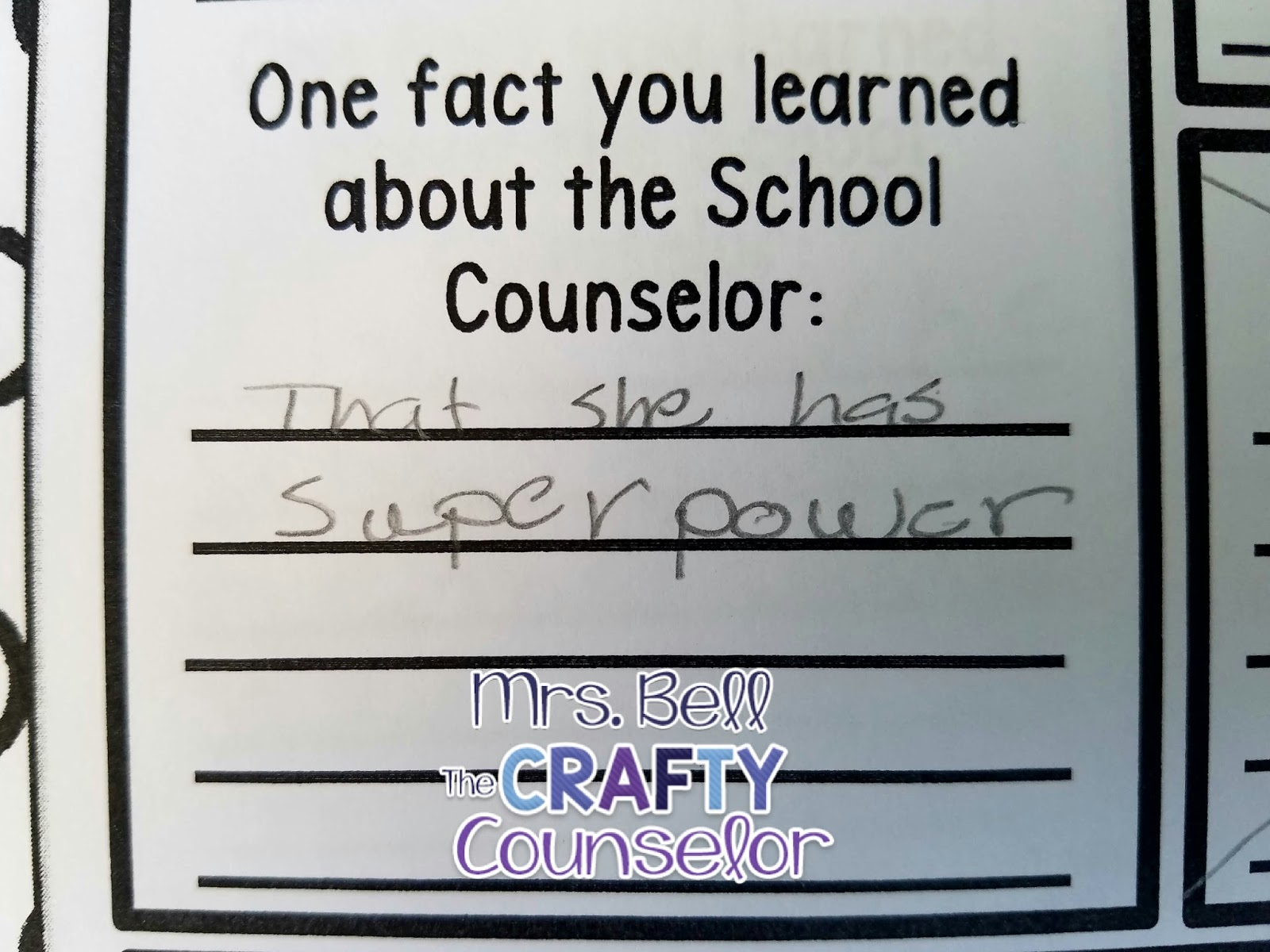 The Crafty Counselor School Counselor S Superpowers